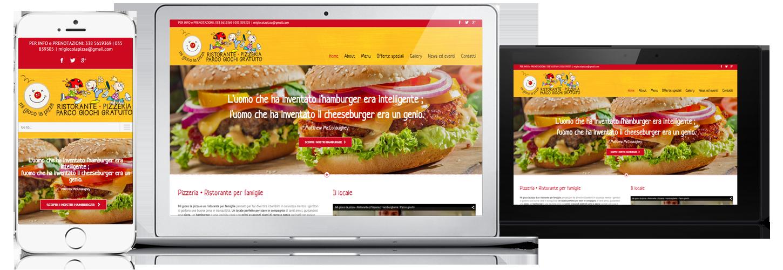 sito per ristorante