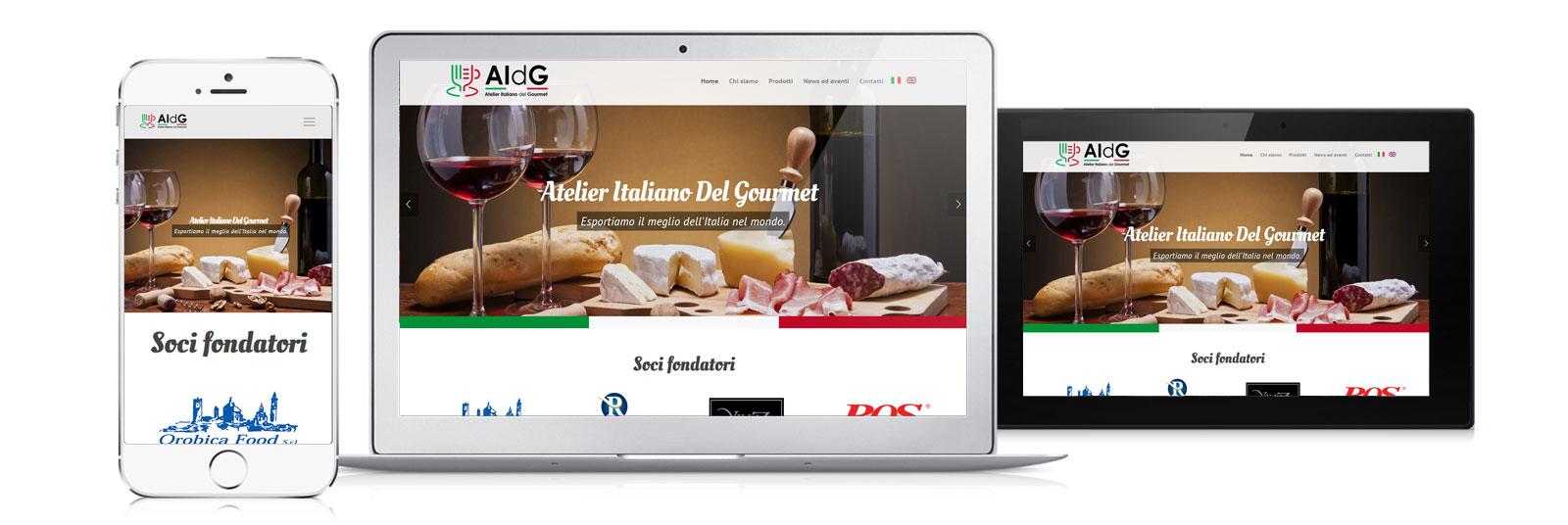 creazione sito AIDG