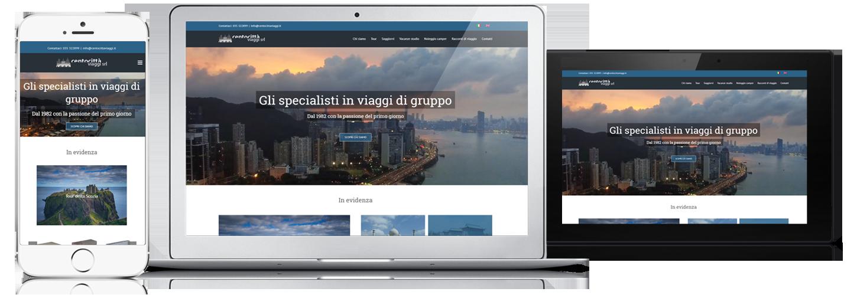 sito per agenzia viaggi